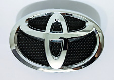 Toyota Corolla Grille Emblem 2009 - 2013 Hood Grill Black Chrome 75301-02010 Le