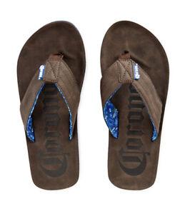 NEW  Corona Beer Flip Flops Sandals Men's Medium 7/8 S officially licensed
