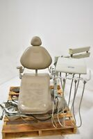 Used Tan Adec 1020 Dental Exam Chair Operatory Set-Up Package - Low Price