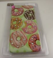 fits iPhone 6 cel phone case Donuts theme bling crystals donut