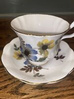 Vintage Finest Bone China Royal Imperial Tea Cup And Saucer Made In England