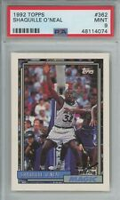 1992 Topps Shaquille O'Neal RC PSA 9