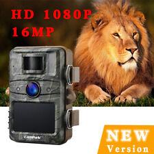 Campark 16MP 1080P HD Caméra de suivi Chasse PAS de lueur Vision nocturneIR IP66