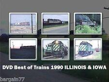 Railfan DVD Best of 1990-1 hour 18 min-SOO-CNW-BN+ more all seasons