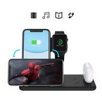Cargador inalámbrico 4 en 1 Para iWatch 4 3 2 & Auriculares & iPhone 11 Pro Max