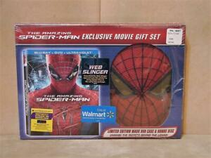 The Amazing Spider-Man BLU-RAY + DVD + Ultraviolet Movie Gift Set New Sealed