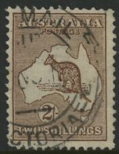 Australia, Used, #11, Clear Cancel, Great Centering
