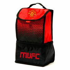 MANCHESTER UNITED FOOTBALL ADULT KIDS SCHOOL OFFICE INSULATED LUNCH BAG FADE
