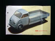 Prospetto pubblicitario-DKW-grossraumprische