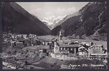 VALLE D'AOSTA COGNE 85 Cartolina FOTOGRAFICA viaggiata 1952