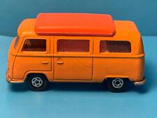 Vtg 1970 Matchbox Superfast #23 Lesney VW Volkswagon Camper Diecast England