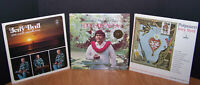 Jerry Byrd (Steel Guitar) 3 LP Lot: Hawaiian Style, Potpourri, w/Eddie Kekaula