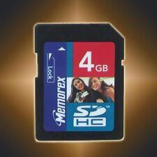 New Memorex TravelCard SD SDHC Flash Memory Card,4GB