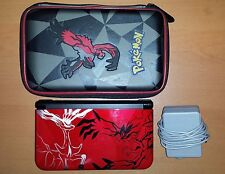 Nintendo 3DS XL Limited Edition Pokemon X and Y Red System (with Carrying Case)