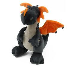 "NICI Dragon Grey stuffed animal 12""/30cm Mythical soft plush toy NEW"