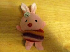Pink Pig Plush Keychain  (NEW)