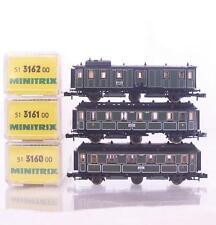 Minitrix Painted N Gauge Model Railway Coaches