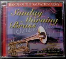 Salvation Army Band & Choir:  Sunday Morning Brass (CD, 2001, BCI Music) NEW
