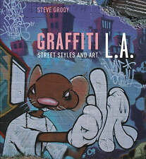 👑 BRAND NEW Graffiti L.A Street Styles and Art with cd-rom by Steve Grody