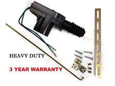 HEAVY DUTY UNIVERSAL POWER DOOR LOCK ACTUATOR 12V DC METAL GEAR 9.9 FT-LB TORQUE