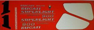 DUCATI 900 SUPERLIGHT MK2 DECAL KIT