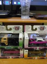 M2 Machines 1/64 Lot Of 4 Misc Cars