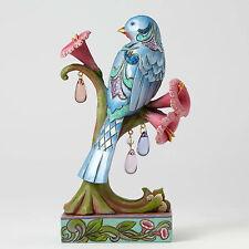 Jim Shore Bluebird on Flower Figurine Spring Wonderland ~Beauty in Bloom 4051432