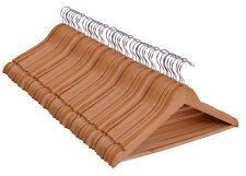 Holz Kleiderbügel Natur - - Hosenbügel Anzugbügel Bügel Holzbügel
