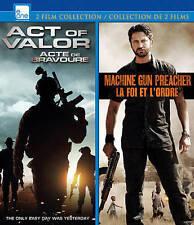 Act Of Valor/Machine Gun Preacher  Blu-Ray NEW