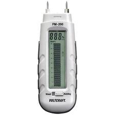 Voltcraft Fm-200 el nivel de humedad Medidor Humedad Tester Detector De Madera Yeso Pared