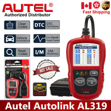 Autel Autolink AL319 Code Reader OBD2 CAN Diagnostic  Scanner Tool Color Screen