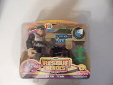 Fisher Price Rescue Heroes Rock Miner Beam Team
