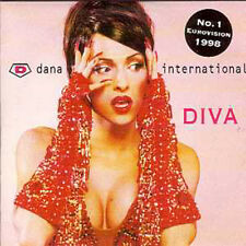☆ CD SINGLE EUROVISION 1998 Israel Dana International ☆ 2nd sleeve