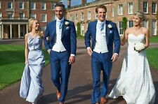 Fashion Mens Wedding Suits Groomsman Tuxedos 3 Piece Best Man Party Suits Custom