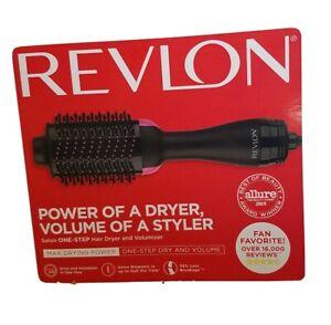 REVLON PRO Collection Salon One Step Hair Dryer&Volumizer RVDR5222 New Open Box