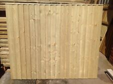 FEATHER EDGE FENCE PANELS, CLOSE BOARD, PRESSURE TREATED, 75x32mm BACK BATONS