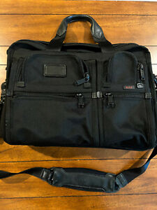 TUMI Expandable Laptop Briefcase - Lightly Used
