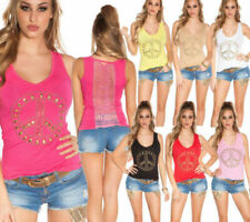 Skull Tank Tops & Shirts for Women