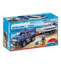 PLAYMOBIL® City Action - Polizei-Truck Mit Speedboot - 5187 - inkl.Motor! - NEU