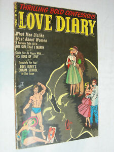 Love Diary #35 G/VG Classic Cover Nice poses WOW