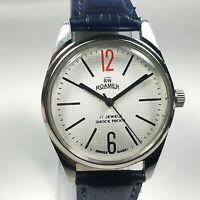 Vintage Roamer Mechanical Hand Winding Movement Mens Analog Wrist Watch AB331