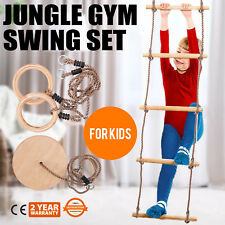 Jungle Gym Swing Kids Play Set Playset Boys Girls Children 250 Lb Indoor PRO