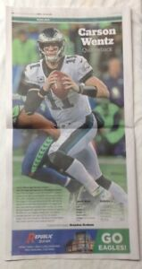 Carson Wentz Philadelphia Inquirer Poster