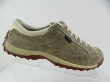 SIMPLE Suede Brown Sz 8.5 Women Casual Lace-Up Oxfords