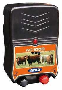 ELETTRIFICATORE RANCH AMA AC1000 PER RECINTI 230VOLT LUNGHEZZA MAX 4 KM (34698)