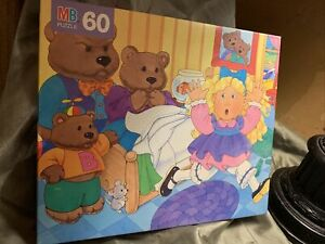 Storybook Puzzle, Goldilocks And The Three Bears ~60 Pc ~ 1993 ~ 4987-1