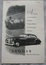 1953 Jaguar Original advert No.3