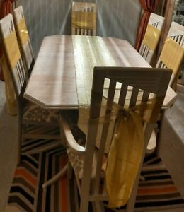 CHAIR TIE BACKS X 6  GOLDEN YELLOW - NEW WITHOUT TAGS.