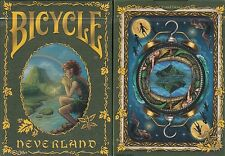Neverland Bicycle Playing Cards Poker Size Deck USPCC Limited Edition Peter Pan