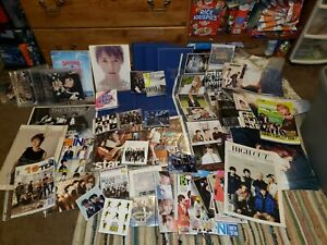 Super Junior Lot. Includes photocards, autographed posters and much more